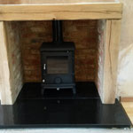 Wood Burning Stove After