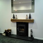 Freshly Installed Wood Burning Stove in time for Christmas
