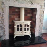 After - Wood Burning Stove